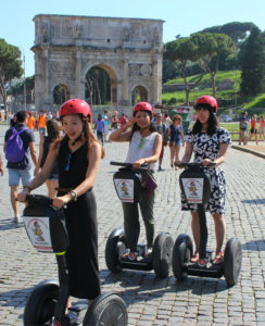 arch of constantine rome segway tour