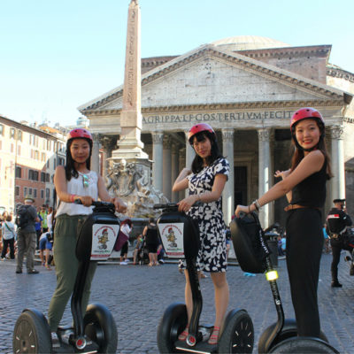 pntheon - rolling rome segwa tour